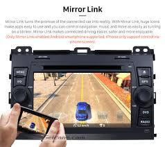 lexus gx470 driver side mirror android 6 0 1024 600 2002 2009 lexus gx470 radio dvd player gps