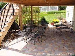 paver patio designs patterns retaining walls amp steps 3 split level patio wall patio ideas new