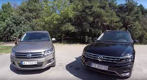old volkswagen volvo all new 2016 volkswagen tiguan gets compared to the old suv