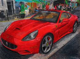 ferrari drawing ferrari california drawing by stevebrandon on deviantart