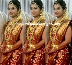 gold and jewellery designs south indian heavy bridal