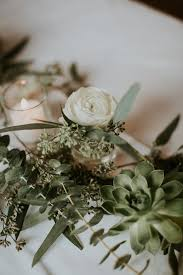 Table Wedding Decorations Best 25 Table Garland Ideas On Pinterest Wedding Table Garland