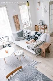 scandinavian living room with white living room hupehome