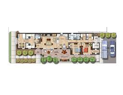 Color Floor Plan Chambers Architecture