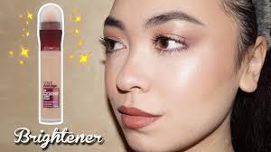 maybelline the eraser eye brightener concealer review