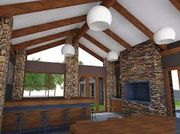 farm style house interior mc lellan architects mc lellan