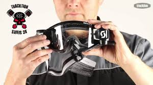 goggles for motocross 2013 tracktion xc series goggles and roll offs youtube