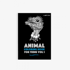 coloring books for teens animal coloring book for teens vol 1 art therapy coloring