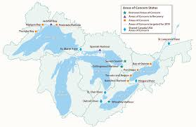 United States Map With Lakes And Rivers by Ontario U0027s Great Lakes Strategy 2016 Progress Report Ontario Ca