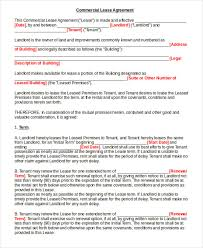lease contract form 7 free word pdf documents download free