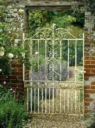 Garden Gate Garden Ideas Iron Garden Gate Wrought Iron Garden Gate Fanciful Best Gates
