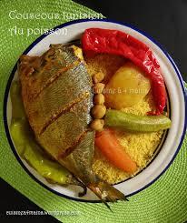 recette cuisine couscous tunisien couscous tunisien au poisson cuisine à 4 mains