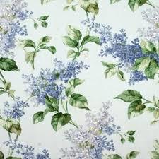 Scalamandre Upholstery Fabric 16484 002 Lilac Hydrangeas Blue U0026 Greens On Sky By Scalamandre