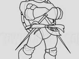 how to draw raphael from teenage mutant ninja turtles video