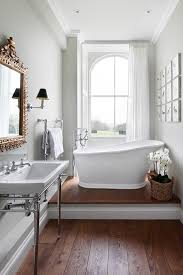 Mirror Sconce Brilliant Raised Tub Platform With Classic Design Transitional
