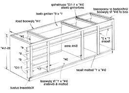 kitchen cabinet diagram kitchen build a kitchen cabinet 3 ways decorative plans 16 kitchen