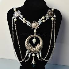 pearl necklace styles images Tibetan style pearl necklace hair accessory pandahall jpg