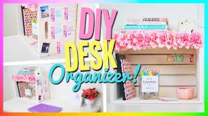 stylish cute desk organization ideas with diy desk organizer cute