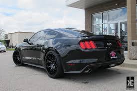 Mustang Black Rims Kc Trends Showcase Gianelle Puerto Gloss Black Wheels Mounted