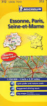 Maps France by 312 Essonne Paris Seine Et Marne Michelin Local Map France