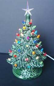 ceramic christmas tree vintage style ceramic christmas tree tabletop tree made to order