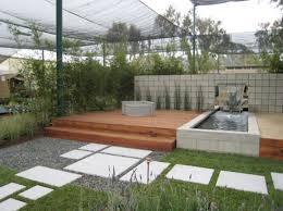 modern landscape design water fountain small area google search