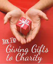 tax tips giving gifts to charity gq
