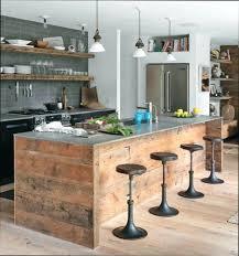 ilot cuisine bois massif ilot cuisine bois ilot cuisine bois et fer ilot de cuisine en bois
