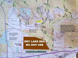 Map Of San Bernardino California Calico Ohv Information