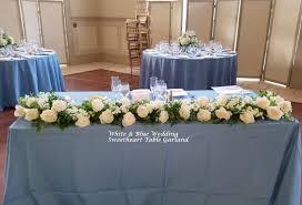 Sweet Heart Table Reception Sweetheart U0026 Card Table Flowers