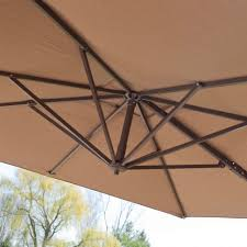 11 Parasol Cantilever Umbrella Sunbrella Fabric by Outdoor Large Backyard Umbrella Sunbrella Cantilever Umbrella