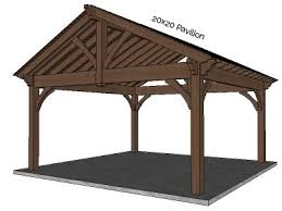Lean To Pergola Kits by Gazebo U0026 Pavilion Kits Western Timber Frame