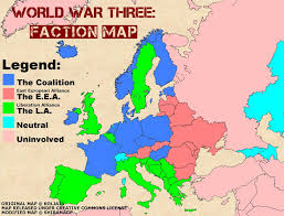 Europes Map by Ww3 Europe Map By Shibamage On Deviantart