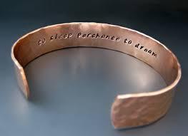 personalized cuff bracelet men copper bracelet the best bracelet 2017