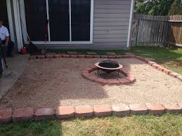 backyard sand firepit ideas backyard fence ideas