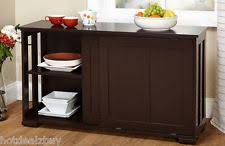 Kitchen Utility Tables - 0002431983563 simple living kitchen buffet hutch appliance storage