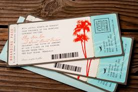 boarding pass wedding invitations stephenanuno com