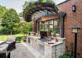 crafty design ideas small outdoor kitchen fine decoration small