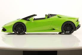 Lamborghini Gallardo Huracan - lamborghini huracan lp 610 4 spyder 1 18 mr collection models
