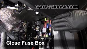 2013 Ford Mustang Interior Interior Fuse Box Location 2010 2014 Ford Mustang 2013 Ford