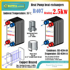 fläche kreis 2 5kw 1hp flache platte wärmetauscher für kaltwasser kreis und