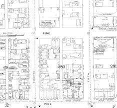 Seattle Public Library Floor Plans Seattle Now U0026 Then The Westlake Triangle Aka The Silverstone