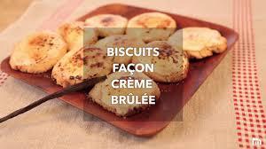 biscuits façon crème brûlée cooking dessert cookies and