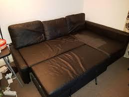Ikea Sofa Bed Friheten Ikea Friheten Bomstad Black Sofa Bed In South East London