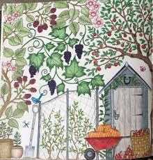 secret garden coloring book prismacolor colored pencils my