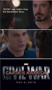 Nsync Meme - image 900999 captain america civil war 4 pane captain