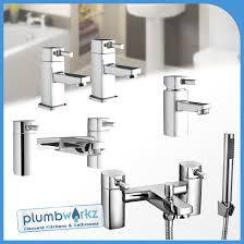 modern forme chrome bathroom taps sink basin mixer bath filler image is loading modern forme chrome bathroom taps sink basin mixer