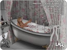 second life marketplace laq decor clawfoot bathtub u0026 shower