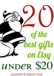 twenty gift ideas twenty dollars no 2 pencil
