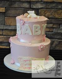 baby shower cake ideas for girl baby shower cakes with delicious recipe home design studio